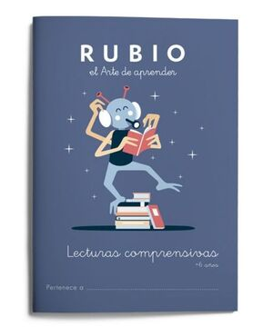 RUBIO LECTURAS COMPRENSIVAS +6