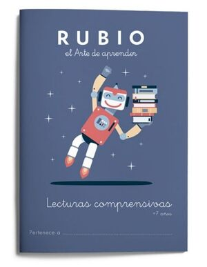 RUBIO LECTURAS COMPRENSIVAS +7 AÑOS