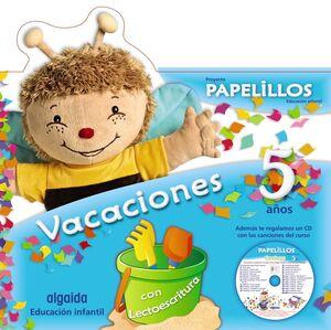 PAPELILLOS 5. CUADERNO DE VACACIONES