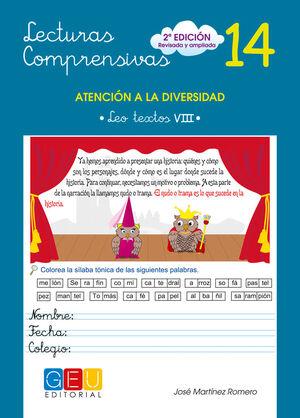 LECTURAS COMPRENSIVAS 14