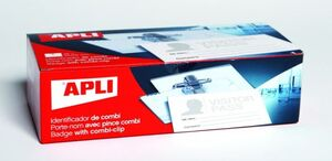 APLI IDENTIFICADOR 90 X 56MM. COMBI  IMPERDIBLE - PINZA