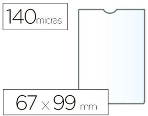 ESSELTE FUNDA PVC 67 X 98MM. DNI