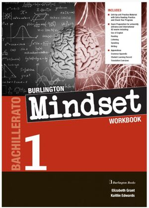 MINDSET 1º BACHILLERATO WORKBOOK. BURLINGTON ´20
