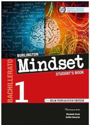 MINDSET 1º BACHILLERATO STUDENT´S BOOK. BURLINGTON ´20