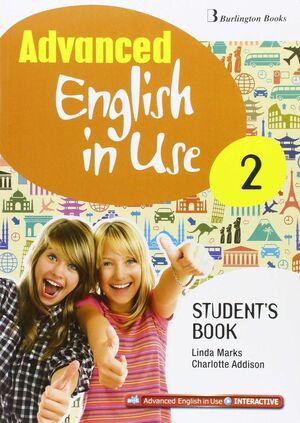 ADVANCED ENGLISH IN USE 2º ESO. STUDENT´S BOOK. BURLINGTON ´16