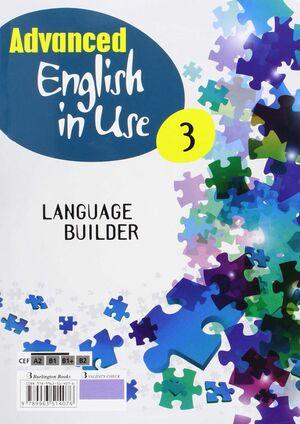 ADVANCED ENGLISH IN USE 3º ESO. WORKBOOK. BURLINGTON ´15