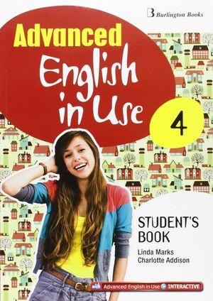 ADVANCED ENGLISH IN USE 4º ESO. STUDENT´S BOOK. BURLINGTON ´15