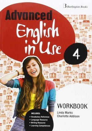 ADVANCED ENGLISH IN USE 4º ESO. WORKBOOK. BURLINGTON ´15