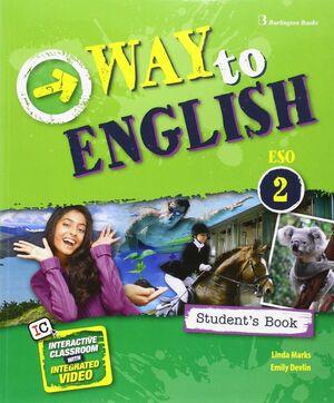 WAY TO ENGLISH 2º ESO. STUDENT´S BOOK. BURLINGTON ´16
