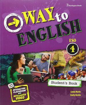 WAY TO ENGLISH 4º ESO. STUDENT´S BOOK. BURLINGTON ´16