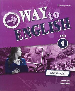 WAY TO ENGLISH 4º ESO. WORKBOOK. BURLINGTON ´16