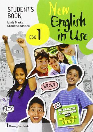 NEW ENGLISH IN USE 1º ESO. STUDENT´S BOOK. BURLINGTON ´16