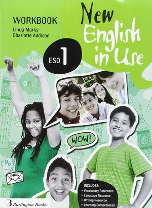NEW ENGLISH IN USE 1º ESO. WORKBOOK. BURLINGTON ´16