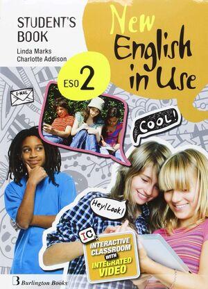 NEW ENGLISH IN USE 2º ESO. STUDENT´S BOOK. BURLINGTON ´16