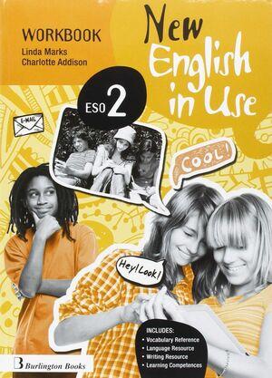 NEW ENGLISH IN USE 2º ESO. WORKBOOK. BURLINGTON ´16