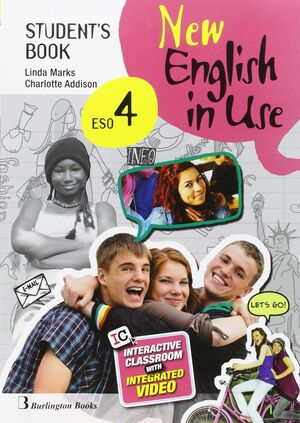 NEW ENGLISH IN USE 4º ESO. STUDENT´S BOOK. BURLINGTON ´16