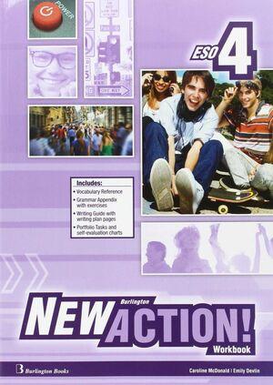 NEW ACTION 4º ESO. WORKBOOK. BURLINGTON ´16