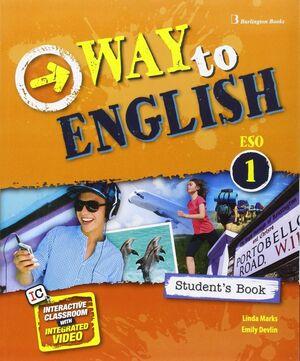 WAY TO ENGLISH 1º ESO. STUDENT´S BOOK. BURLINGTON ´16